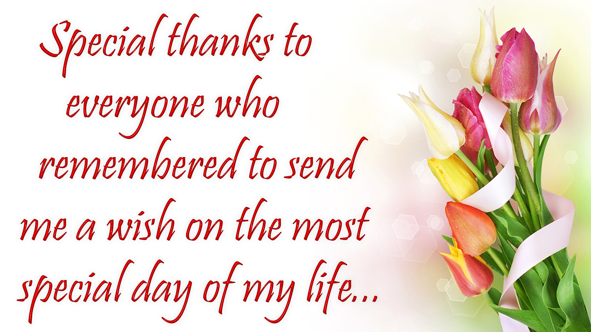 Thank You For Birthday Wishes Images 2018 Birthday Wishes Reply