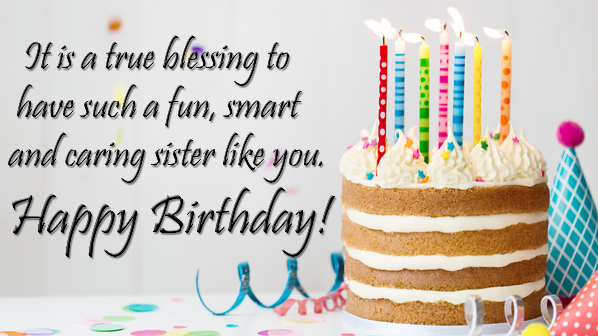 Birthday Wishes For Sister Images Happy Birthday Sister