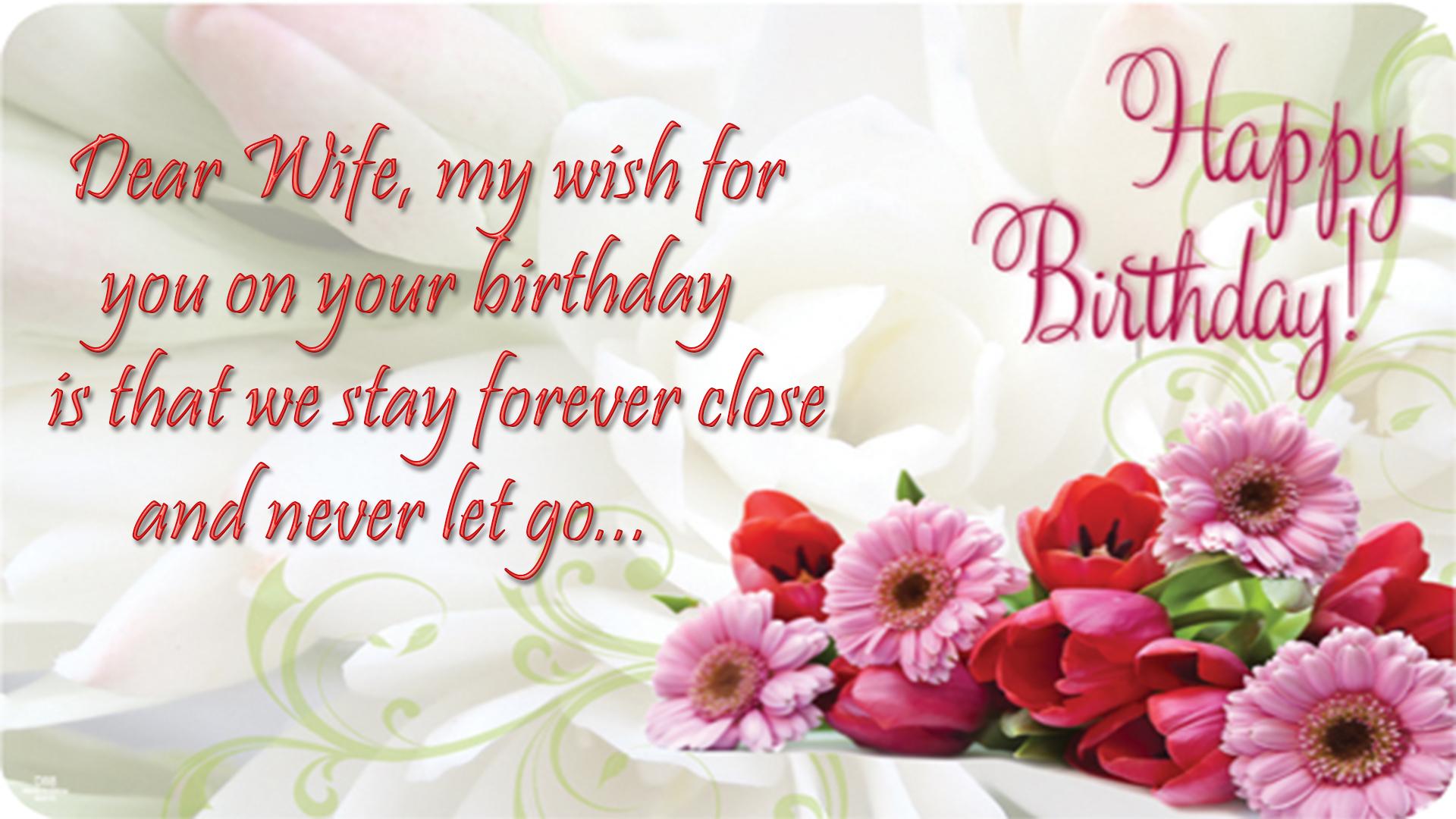 Happy birthday wife birthday wishes for wife images free download birthday wishes for wife image izmirmasajfo