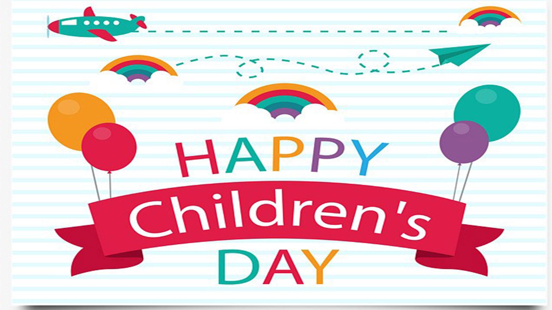 present happy childrens day - HD 1920×1080