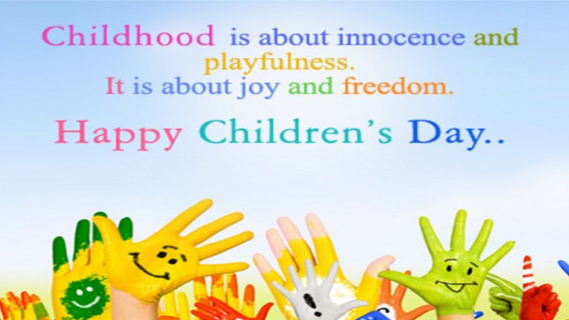Happy Childrens Day Quotes Images | Universal Children's Day